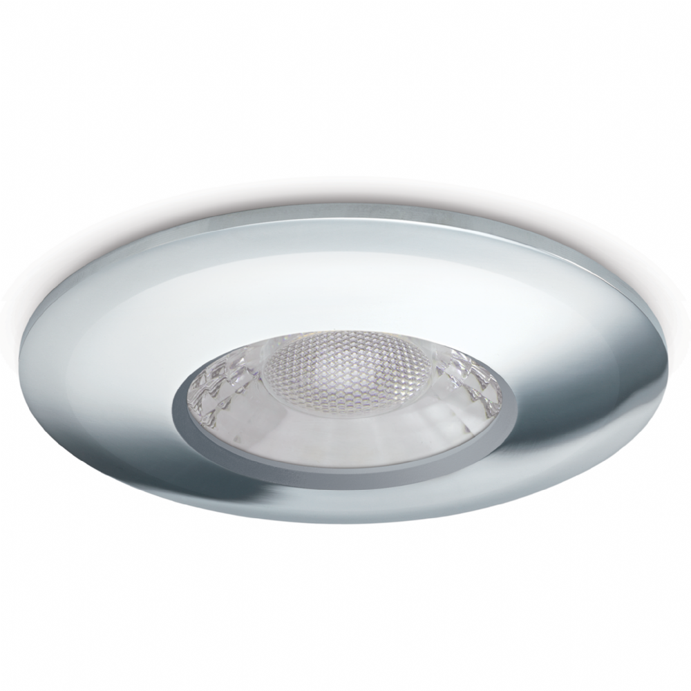 JCC Lighting JC1001/CH Fixed Fire-Rated Downlight 7.5W Dimmable 3000/4000K 600/650lm